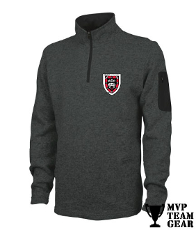 Morris Rugby Men's 1/4 Zip Fleece Pullover